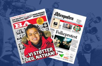 Faksimile: Bergensavisen 20.02.2013 og Aftenposten 14.01.2011. (Foto: (Illustrasjon: Annica Thomsson))