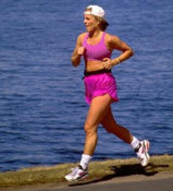 """""""Å løpe 75 kilometer i uka hjelper, men kostholdet hjelper mer."""""""