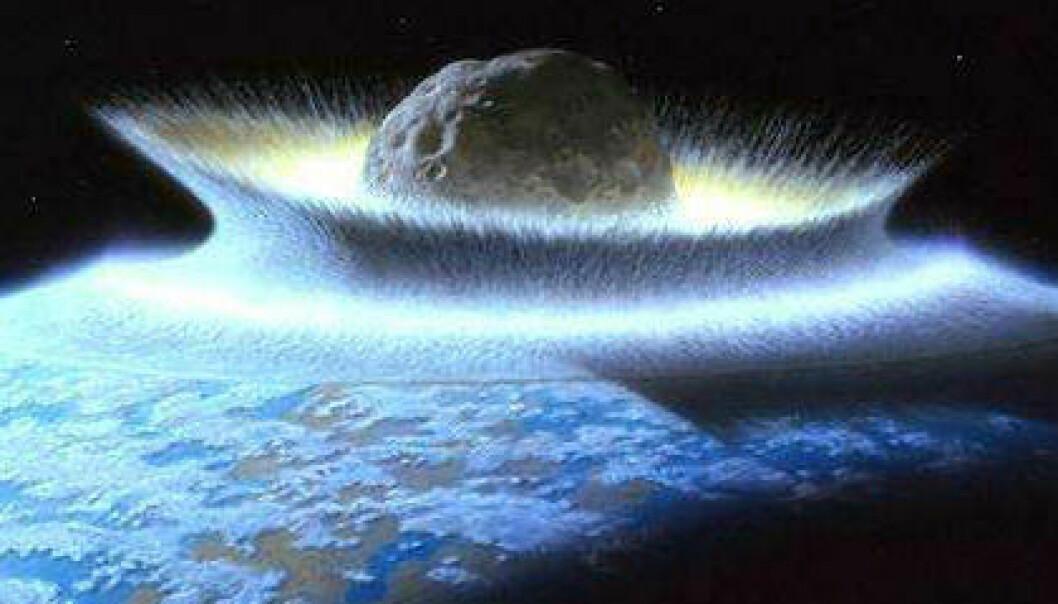 Lavalag tyder på massivt asteroidebombardement