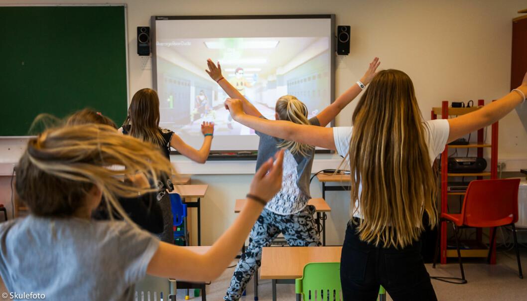 Skolen er en svært viktig arena for fysisk aktivitet.