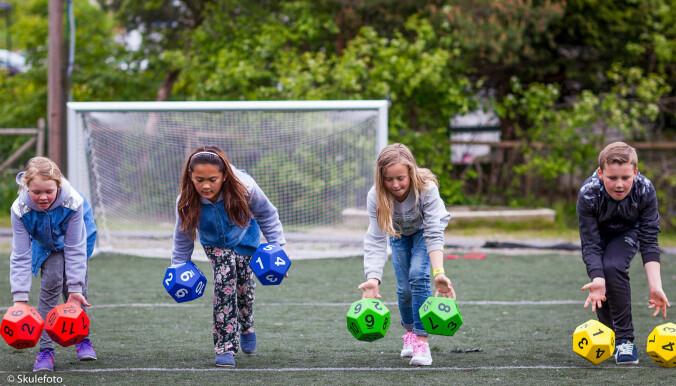 Ungene i studien fikk lagt inn en halvtimes aktivitet tre dager i uka i norsk-, engelsk- og mattetimene.