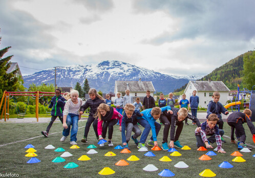 Active children become healthy old people