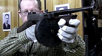 Nett-TV: Maskinpistol fra gangstertiden