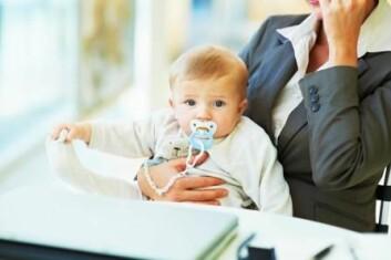 Menn som voks opp med ei mor i arbeid, vil sjølve ikkje mislike at kona arbeider. (Foto: NHH Bulletin)