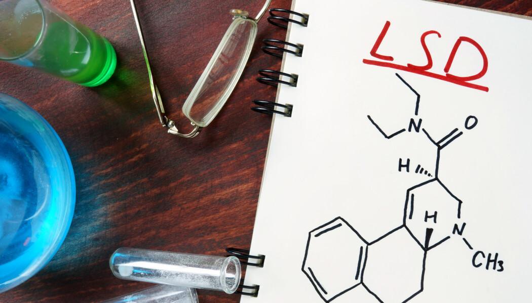 Forskarar er på nytt interessert i å undersøkje om psykedeliske stoff kan ha terapeutisk effekt.