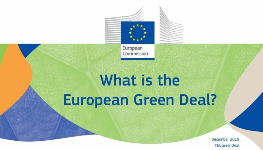 EU-kommisjonen har tydelig signalisert at Grønn omstilling i stor grad vil påvirke de kommende utlysningene i neste rammeprogram, Horisont Europa.