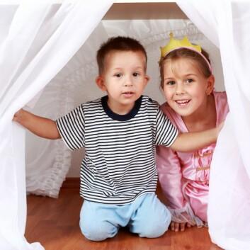 - Arkitektur kan styrke barna i deres utvikling, mener forsker. (Foto: Colourbox)