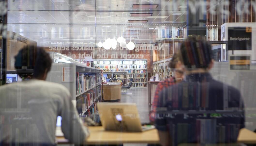 Realfagsbiblioteket ved Universitetet i Oslo er mye mer enn bare hyllemeter på hyllemeter med bøker og tidsskrifter.