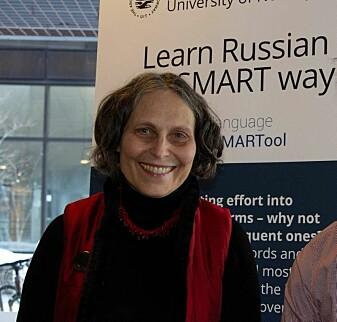 Laura Janda, professor i russisk språkvitenskap ved UiT, står bak språkverktøyet SMARTool.