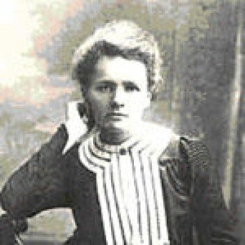 """""""Marie Curie."""""""