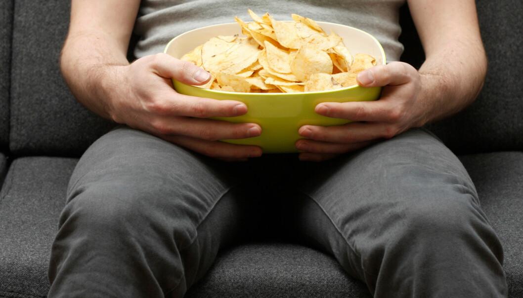 Sitter du mye, er det fare for at rumpa girer opp fettproduksjonen. (Illustrasjonsfoto: iStockphoto)