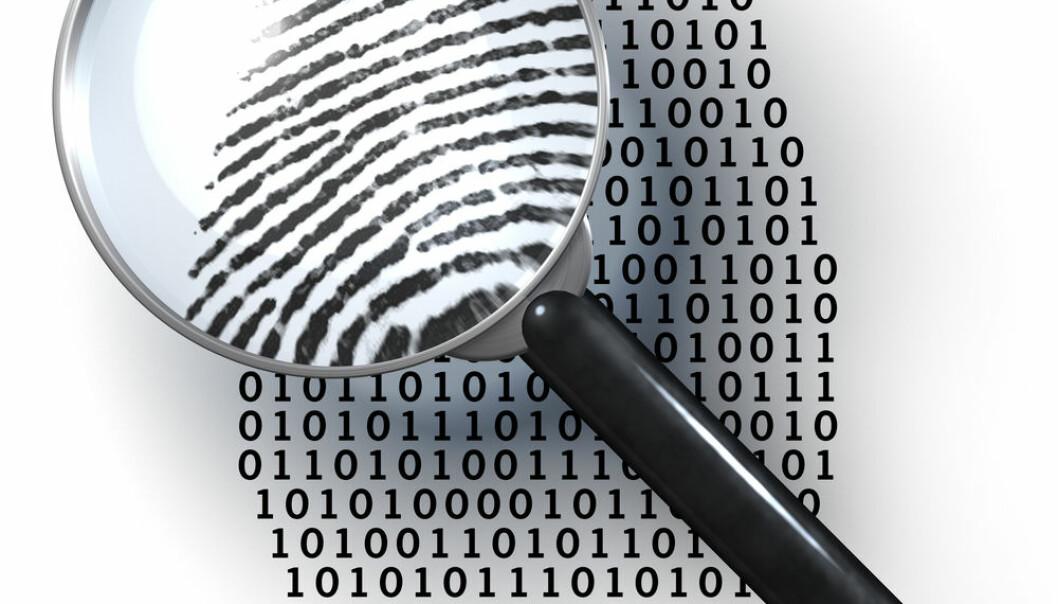 Hvor mye persondata sender du ut på nettet hver dag? Shutterstock