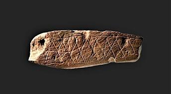 Eldgamle mønstre bringer oss et skritt nærmere steinaldermennesket