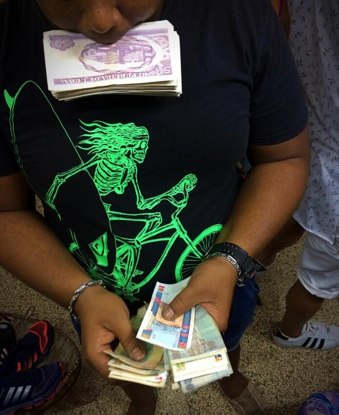 Handel i Havanna.