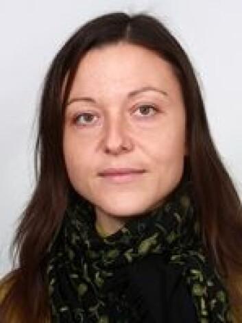 Angela Lupatelli er stipendiat ved Avdeling for farmasi, på Det matematisk-naturvitenskapelige faktultet ved UiO. Foto: UiO