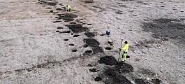 Det var mye som dukket opp under utbyggingen av den nye kampflybasen på Ørland