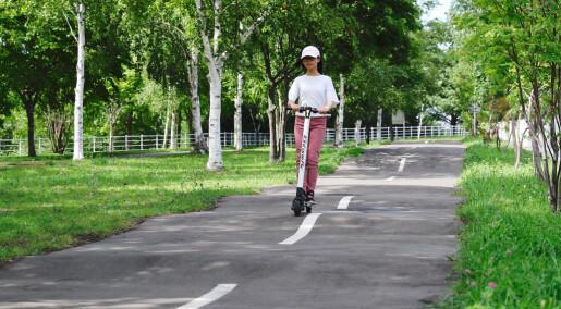 Bra for byen om el-sparkesykkelen får større fart