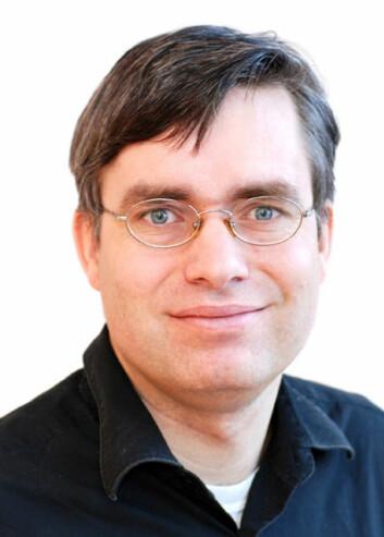 Forsker Harald Weedon-Fekjær ved Kreftregisteret. (Foto: Ann-Elin Wang, Kreftregisteret)