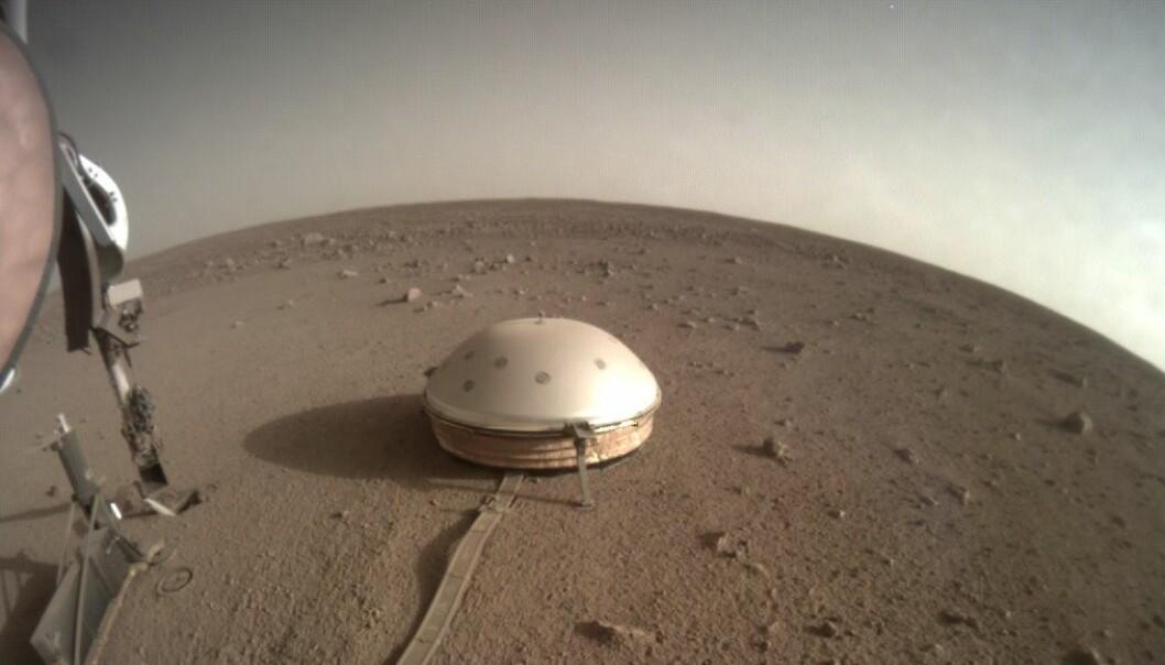 NASA finner bevis for Mars-skjelv