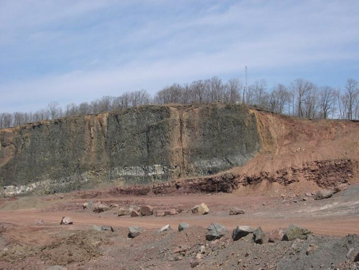 Noen av prøvene ble tatt i New Jersey, like ved New York. (Foto: Paul Olsen/Lamont-Doherty Earth Observatory)