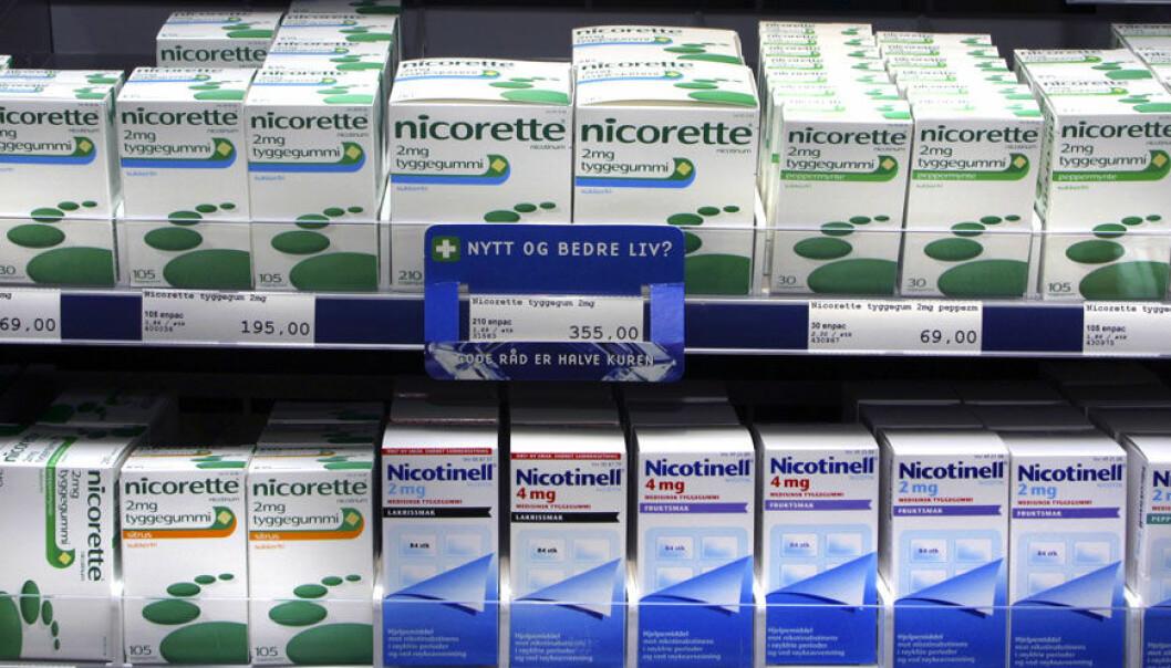 Vi tygger nikotin som aldri før