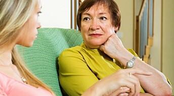 Mor er en undervurdert støtte for kvinner utsatt for partnervold