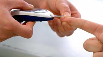 Få diabetesbarn når behandlingsmål