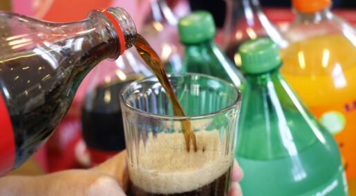 De som drakk sukkerdrikke fikk uheldige nivåer av kolesterol i blodet
