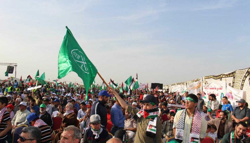 Det muslimske brorskap og deres støttespillere demonstrerte for demokrati under Den arabiske våren i 2011.