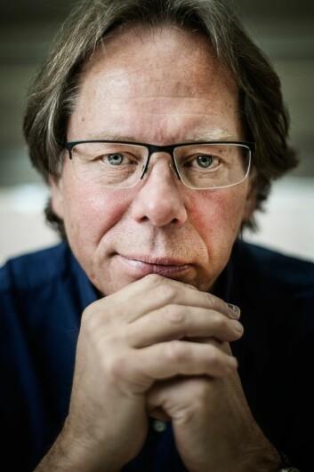 - Det er riktig at det har blitt flere på trygd, men det er også blitt flere personer i Norge, sier Lars Inge Terum, ved Høgskolen i Oslo og Akershus. (Foto: Benjamin A. Ward, HiOA)