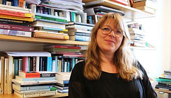 Sissel Furuseth forsker på litteratur om klimakrisa.