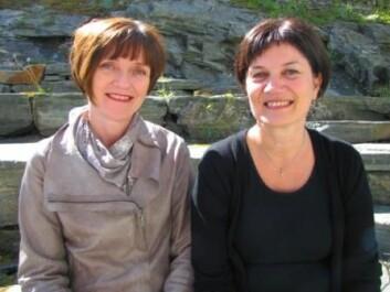 Fra venstre Marit Rismark (NTNU) og Kitt Lyngsnes (HiNT). (Foto: Bjørnar Leknes)