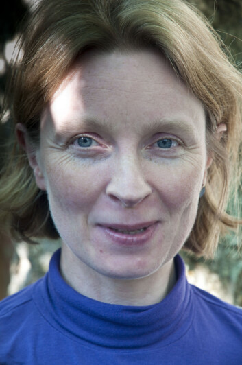 Lise Dalsgaard. (Foto: Lars Sandved Dalen / Skog og landskap)