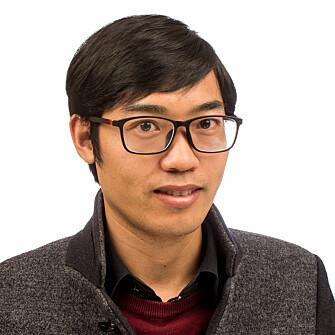 Bo Huang, a postdoc at NTNU's Industrial Ecology Programme.