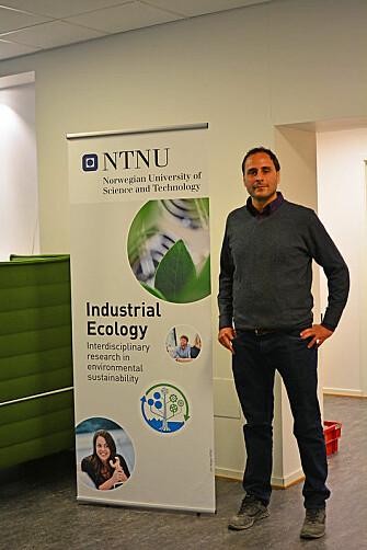 Francesco Cherubini is a professor and director of NTNU's Industrial Ecology Programme.