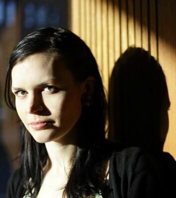 Masterstudent i piano ved Musikkhøgskolen, Sara Aimée Smiseth, etterlyser kvinnelige rollemodeller. (Foto: Privat)