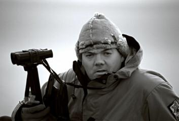 Forsker Hallvard Strøm. (Foto: Norsk Polarinstitutt)