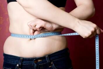 """""""Overvekt er et globalt helseproblem, og mange vil kvitte seg med et kilo eller fem. Men hva fungerer?"""" (Foto: Colourbox)"""