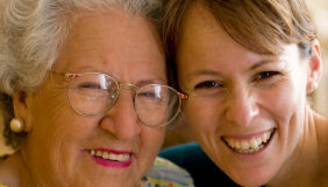 Eldre føler seg friskere med engasjerte pleiere