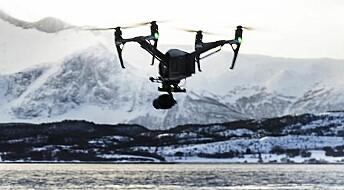 Skal kartlegge tare og sjøgress med droner