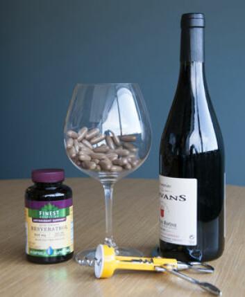 Resveratrol fra rødvin er godt for mange ting, men det ser ikke ut til at inntak av stoffet i pilleform har noen særlig effekt. (Foto: Robert Boston)