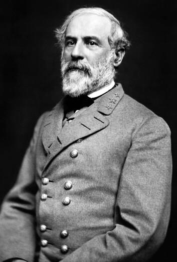 General Robert Edward Lee. Konføderasjonens øverstekommanderende. (Foto: Julian Vannerson / wikimedia commons)