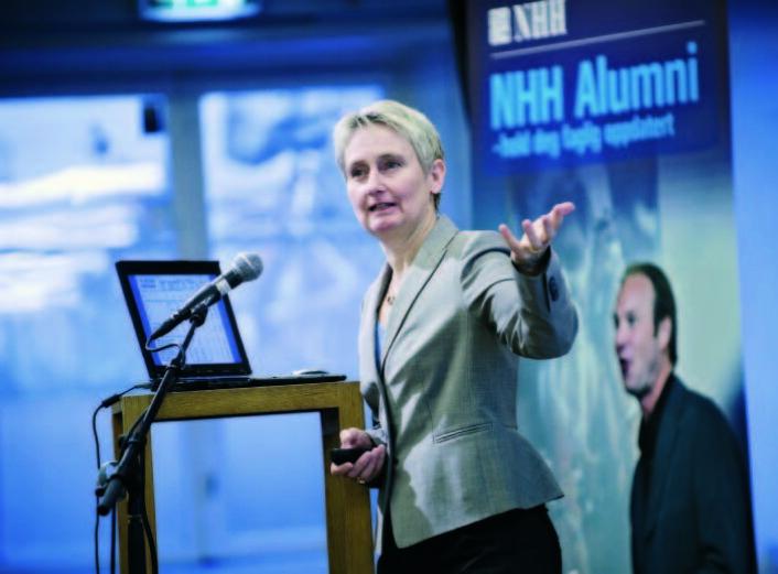 Karin S. Thorburn. (Foto: NHH Bulletin)