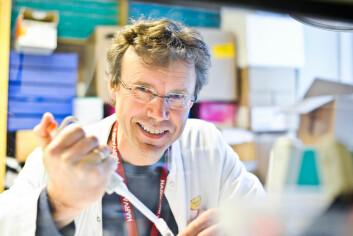 Professor Pål Rasmus Njølstad en del av en stor internasjonal forskergruppe som står bak funnet av den sjeldne mutasjonen, som gir beskyttelse mot diabetes type 2. Njølstad er daglig leder ved KG Jebsen Senter for diabetesforskning  i Bergen. (Foto: Øyvind Blom, Haukeland universitetssykehus)