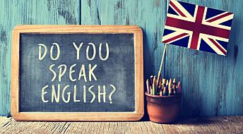 Det kan være bra å bruke flere språk i engelsktimene