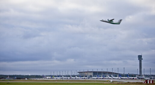 Nordmenn flyr sjeldnere enn før og bruker mindre penger på reising