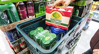 Nordmenn drikker mer i årets siste måneder