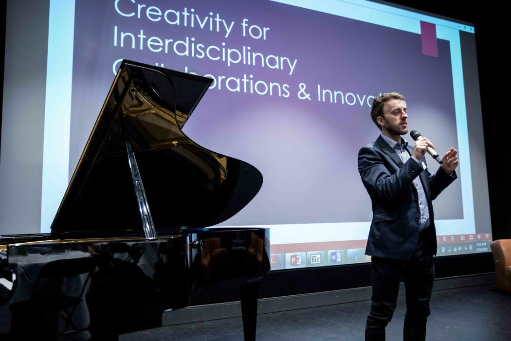 Musiker og pedagog Ole Fredrik Norbye har intervjuet ledere og ansatte i offentlig sektor om kreativitet på jobben.