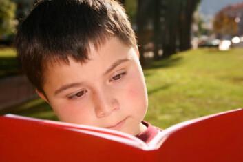 Noen barn har ikke mulighet til å bruke blikket til nærarbeid i mer ennfem minutter før alt blir vanskelig. (Illustrasjonsfoto: iStockphoto)
