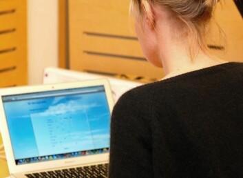 Pasienter rapporterer gjerne symptomer på nettet før konsultasjon. (Foto: Randi Laukli)